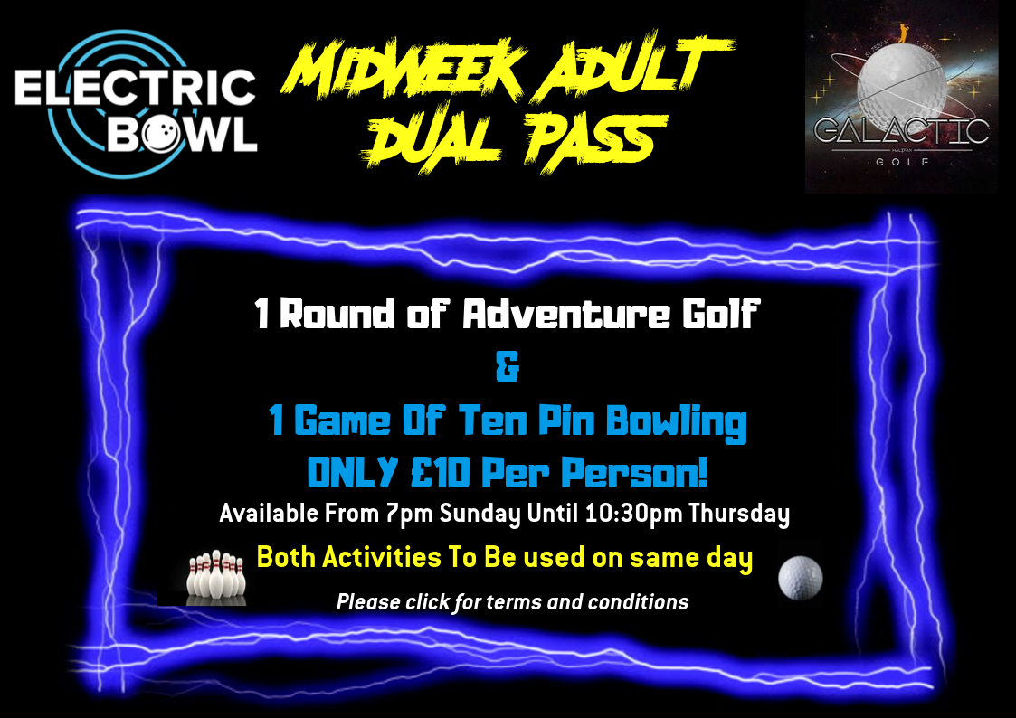 Midweek Adult Dual Pass!